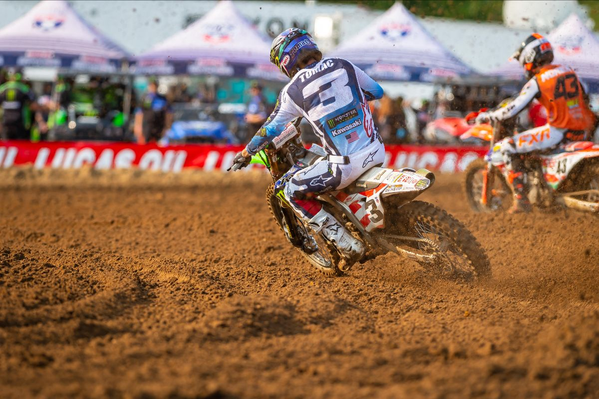 210704 Eli Tomac is back on form and used a second moto win for second overall