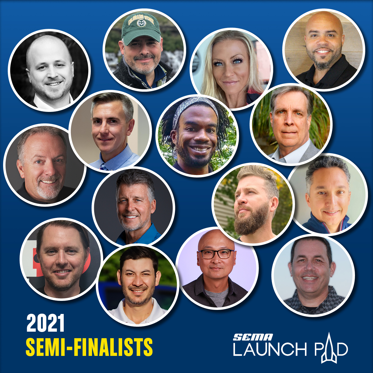 210705 SEMA Fifteen applicants have been selected as semi-finalists of the 9th annual SEMA Launch Pad competition (1)