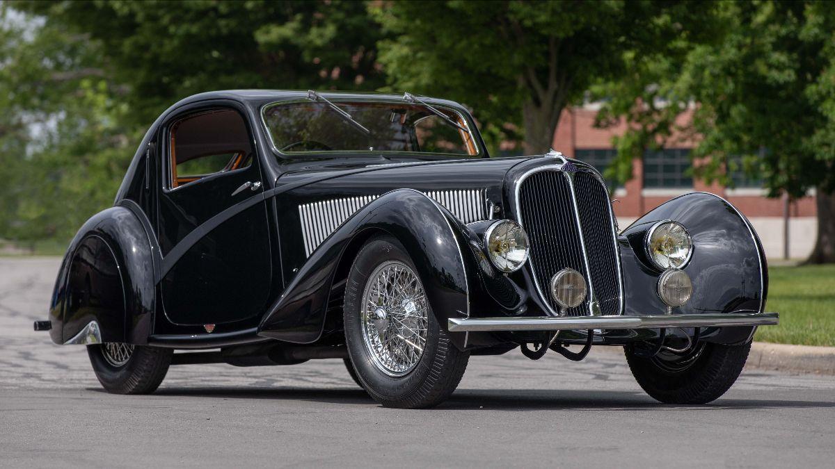 210707 1936 Delahaye Type 135 Competition Court Teardrop Coupe Coachwork by Figoni et Falaschi
