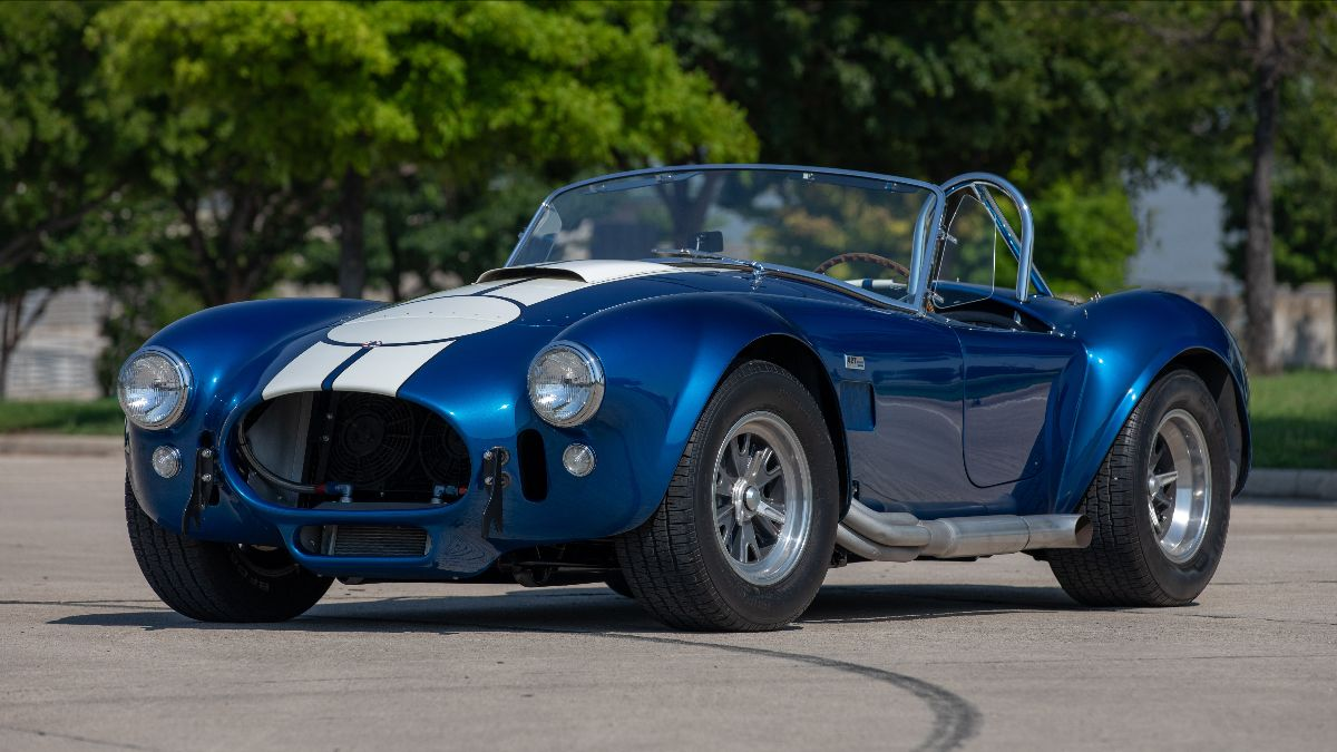210707 1967 Shelby 427 'Semi Competition' Cobra CSX3045, 1 of 29 Produced