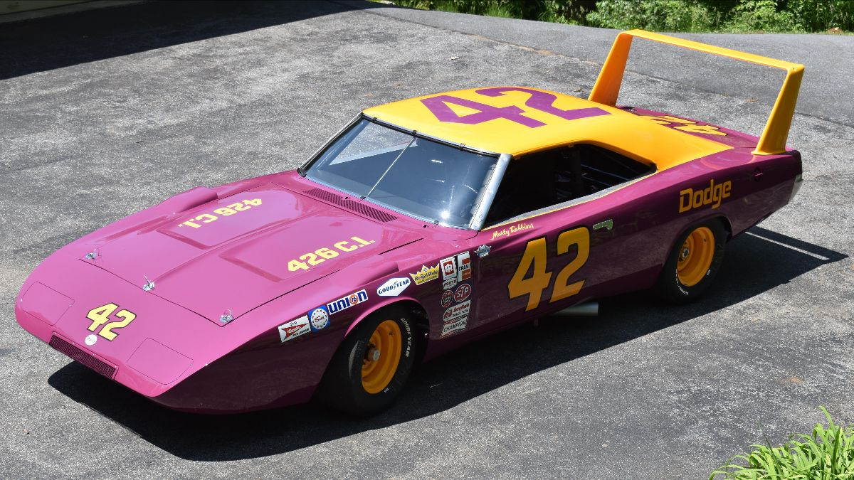210707 1969 Dodge Daytona NASCAR Driven by Country Music Legend Marty Robbins (Lot S142)