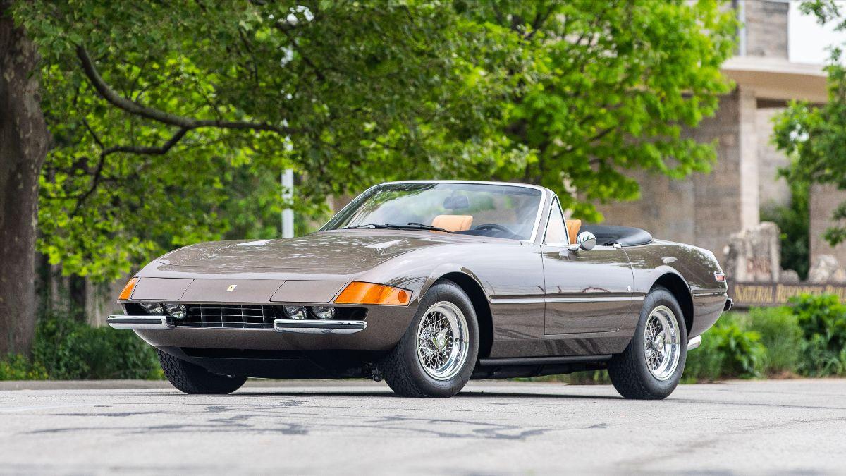 210707 1972 Ferrari 365 GTS:4 Daytona S:N 16573, Multiple-Time FCA Platinum Winner