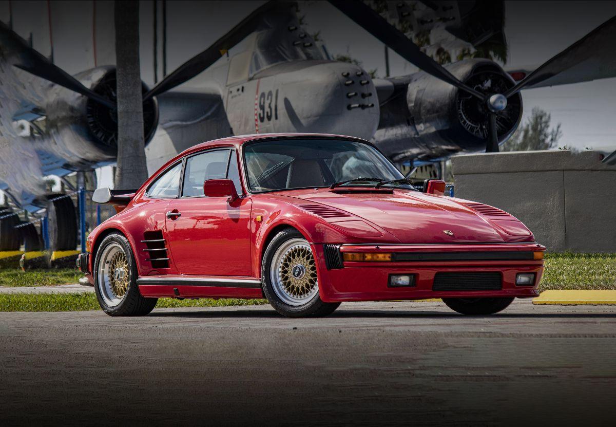 210707 1987 Porsche 930 Turbo Slantnose Rare Factory Power Kit (Lot S93)