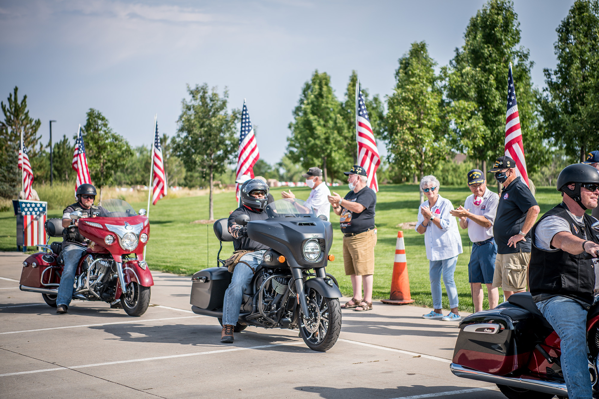 210707 Indian Motorcycle and Veterans Charity Ride Mark 7th Annual Motorcycle Therapy Adventure to Sturgis (1)