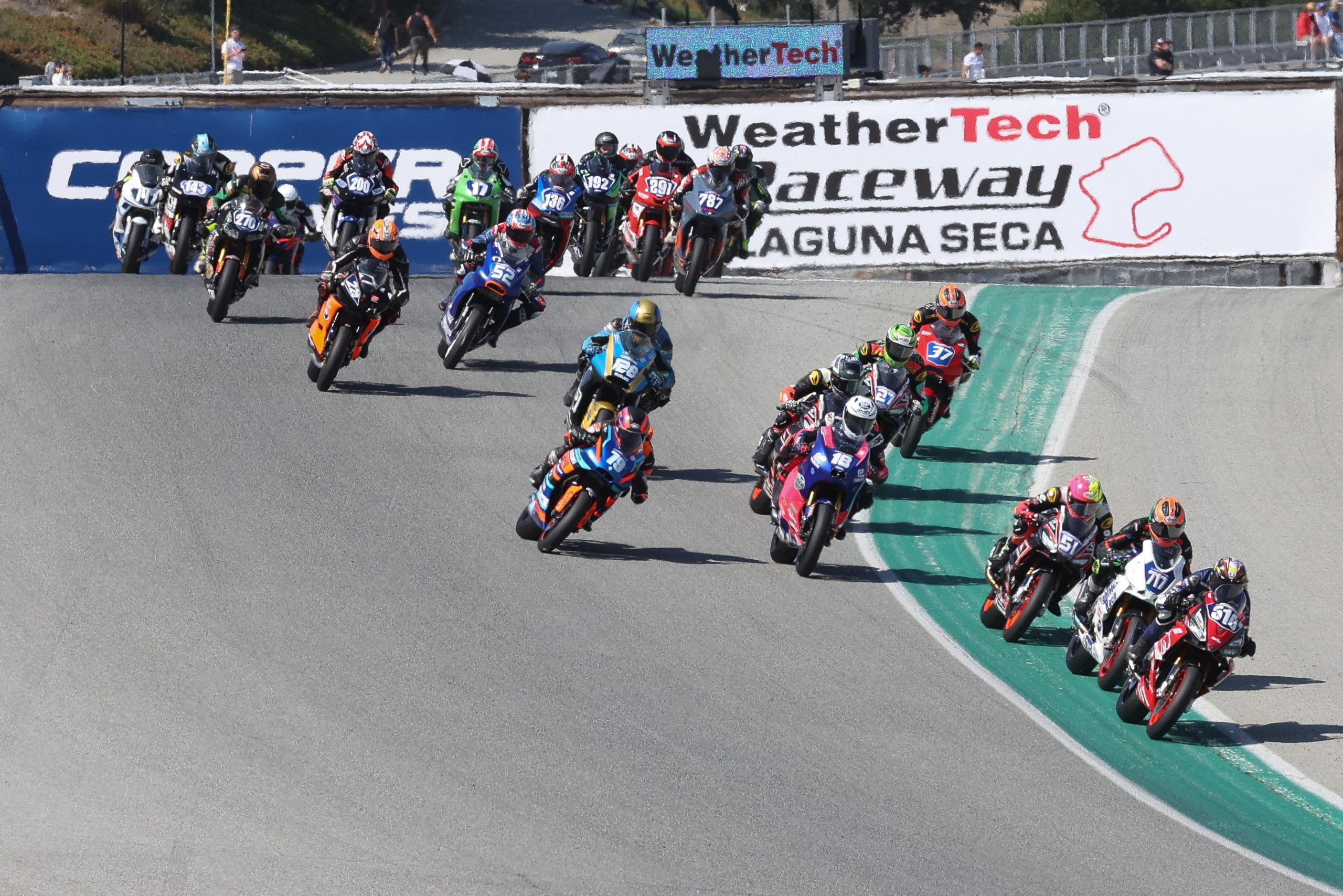 210711 Sean Dylan Kelly (40) won his fourth Supersport race of the season with a win over his rival Richie Escalante (1)
