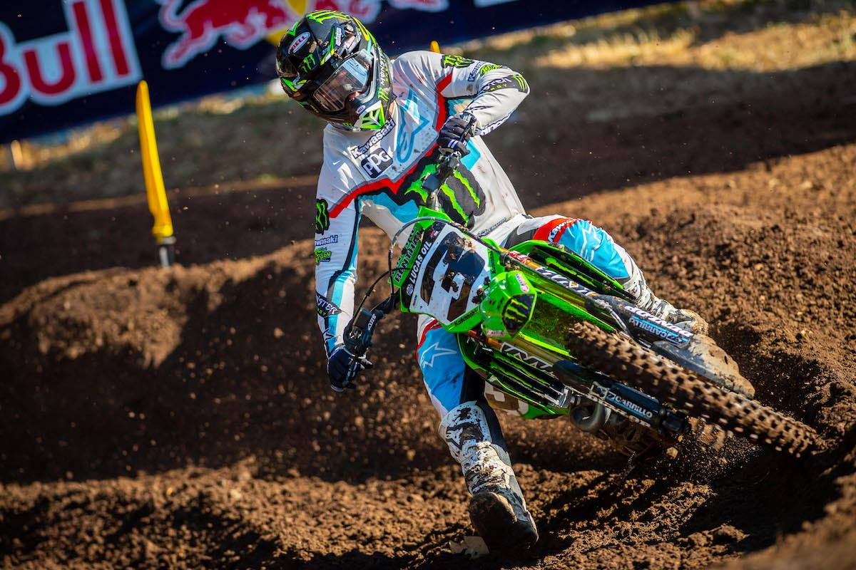 210725 Eli Tomac captured his third runner-up finish in the past four races