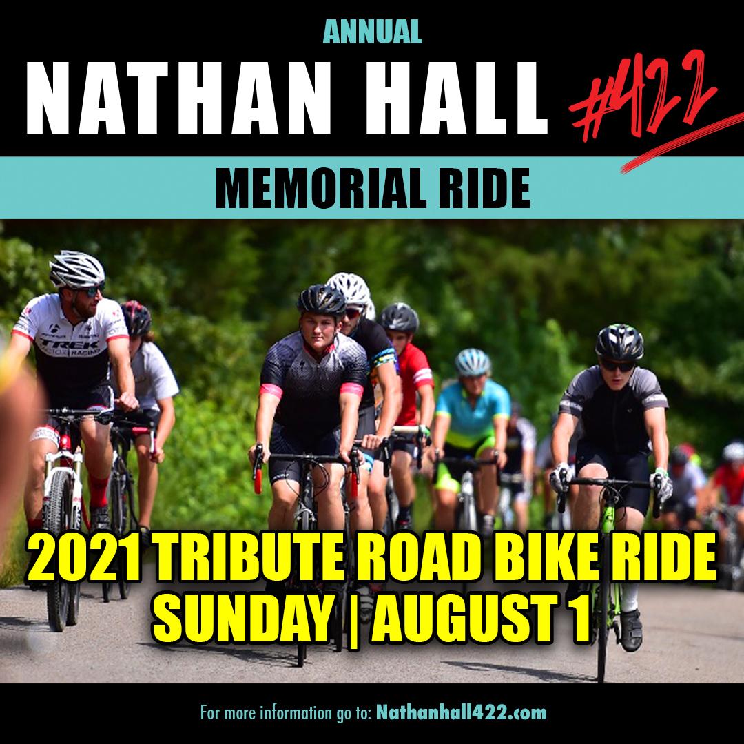 210727 Nathan Hall Memorial Road Bike Ride