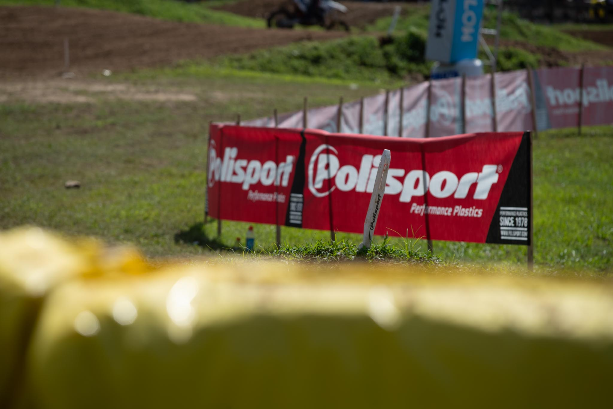 210729 Polisport returns as the official track marker and plastic of the 2021 Monster Energy AMA Amateur National Motocross Championship