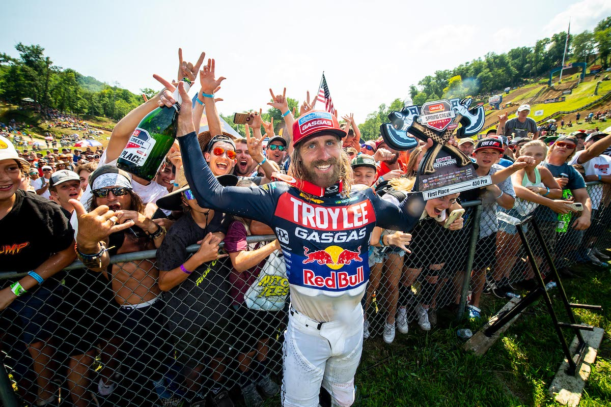 Justin Barcia earned his first win since 2018 and the first victory for GASGAS