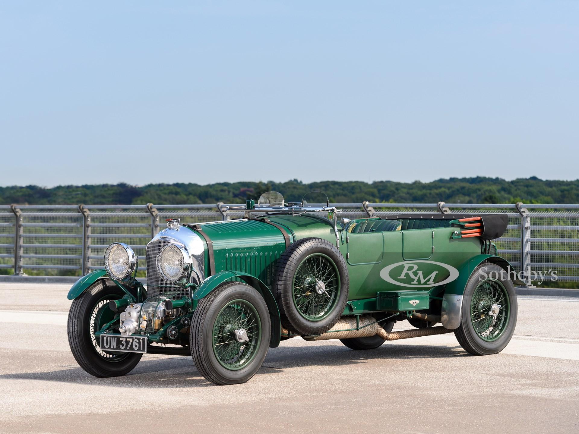 1930 Bentley 4½-Litre Supercharged Tourer (Tim Scott ©2021 Courtesy of RM Sotheby's)