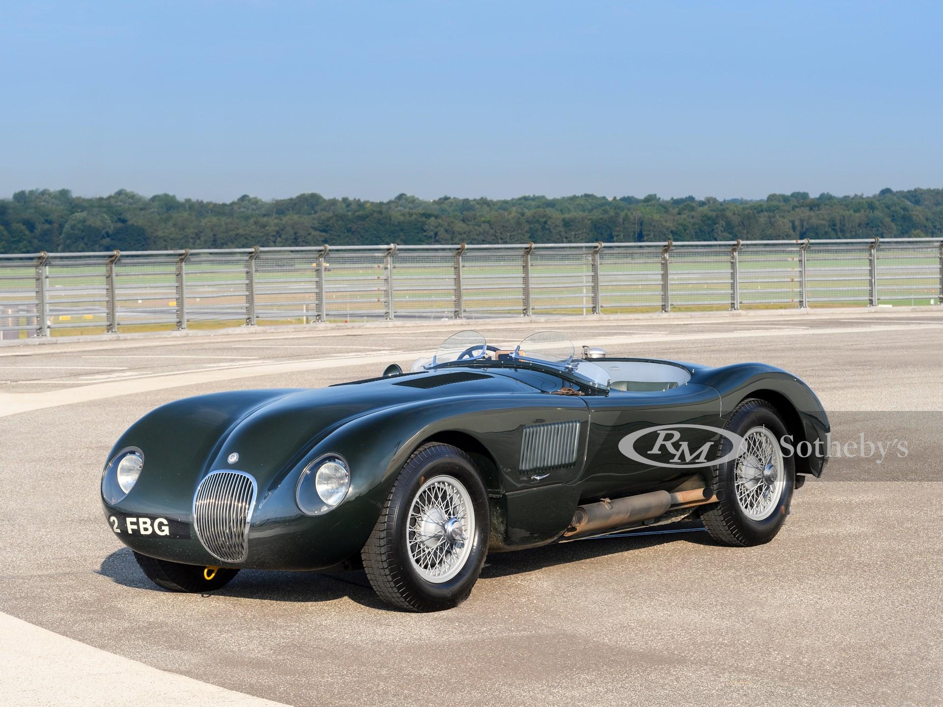 1952 Jaguar C-Type (Tim Scott ©2021 Courtesy of RM Sotheby's) (2)