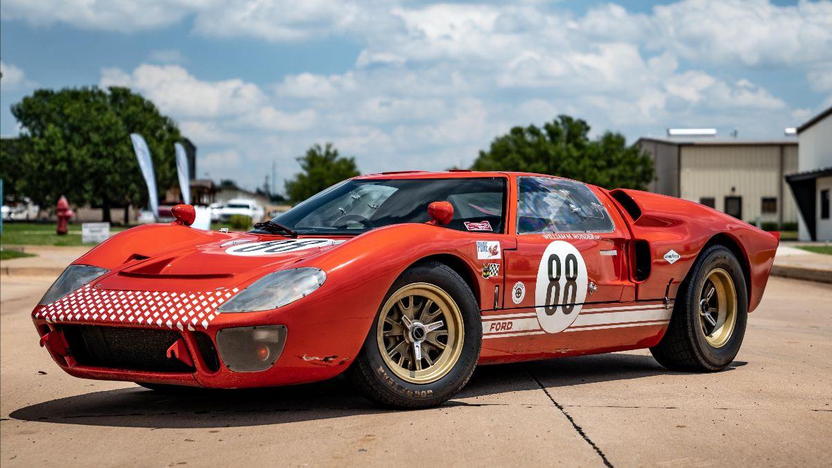 1966 RCR Ford GT40 Replica 1 of 6 Built for 'Ford v Ferrari' (Lot S126)