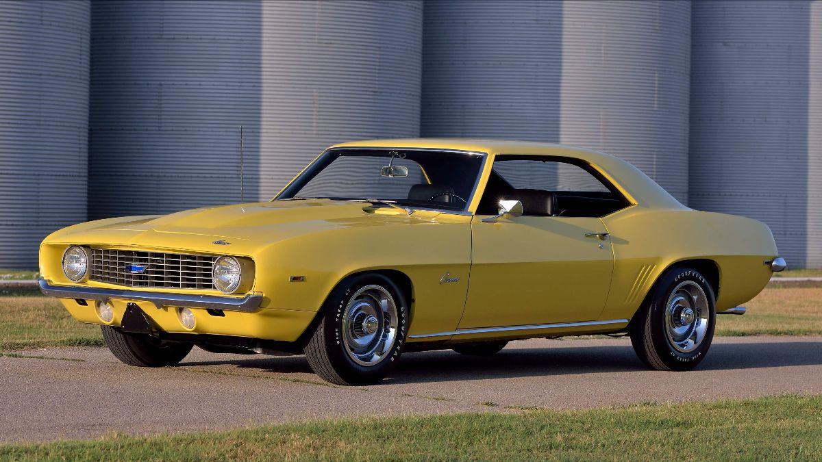 1969 Chevrolet COPO Camaro L72 427:425 HP, Original Paint (Lot S116)