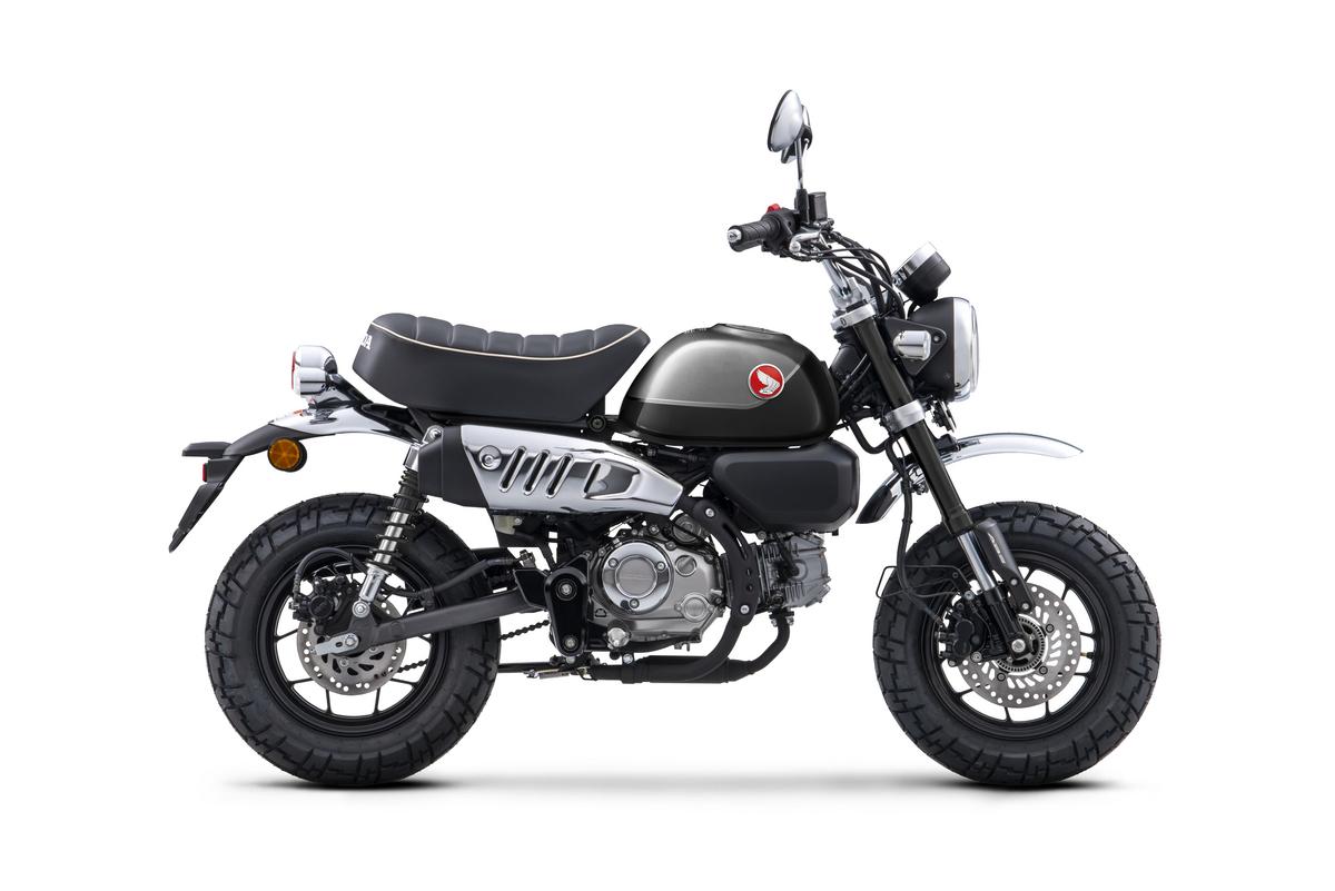 2022 Honda Monkey ABS_Pearl Black