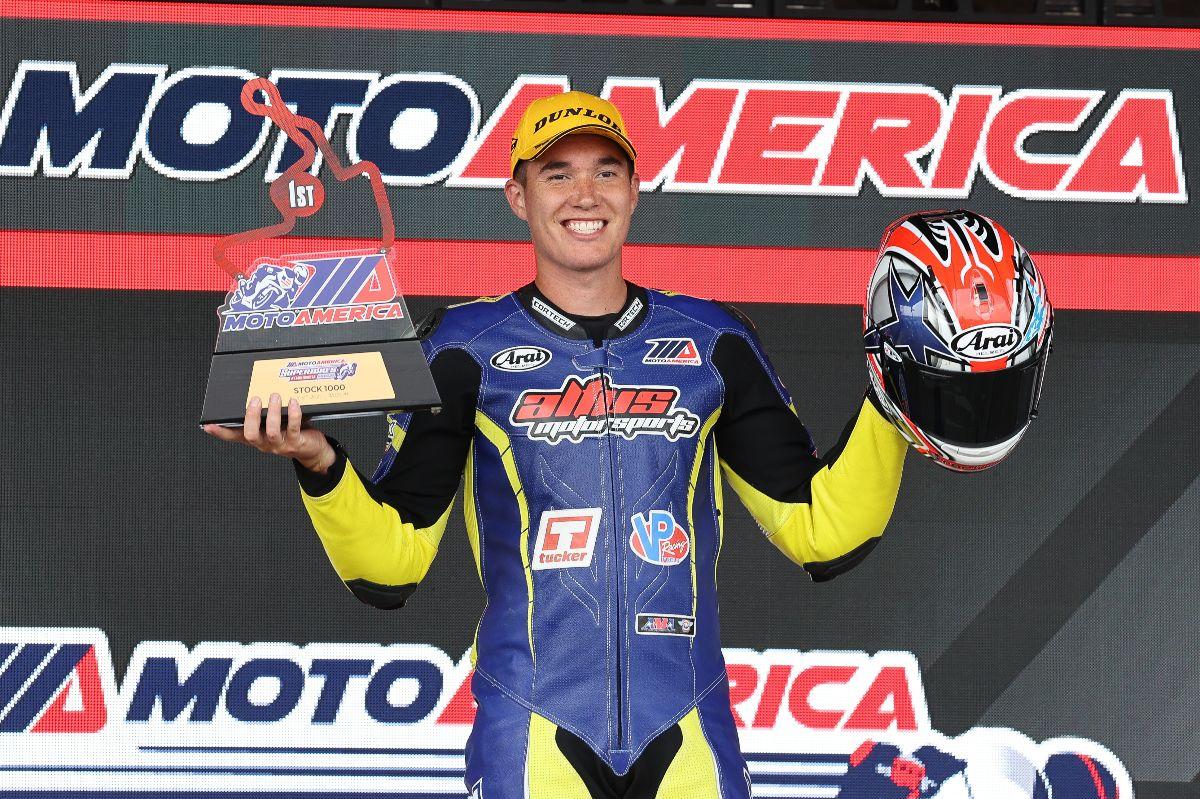 210801 Altus Motorsports' Jake Lewis won the Stock 1000 race