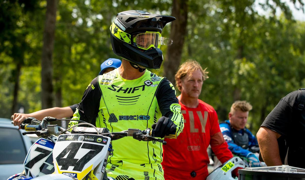 210804 Jeff Emig marked his anticipated return to Loretta Lynn's with a Masters moto win
