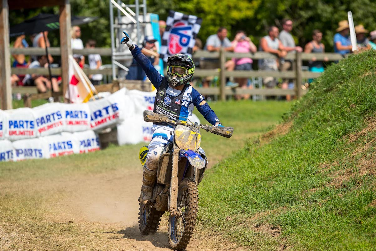 210804 Nick Romano made the first statement with a Moto 1 win in 250 B