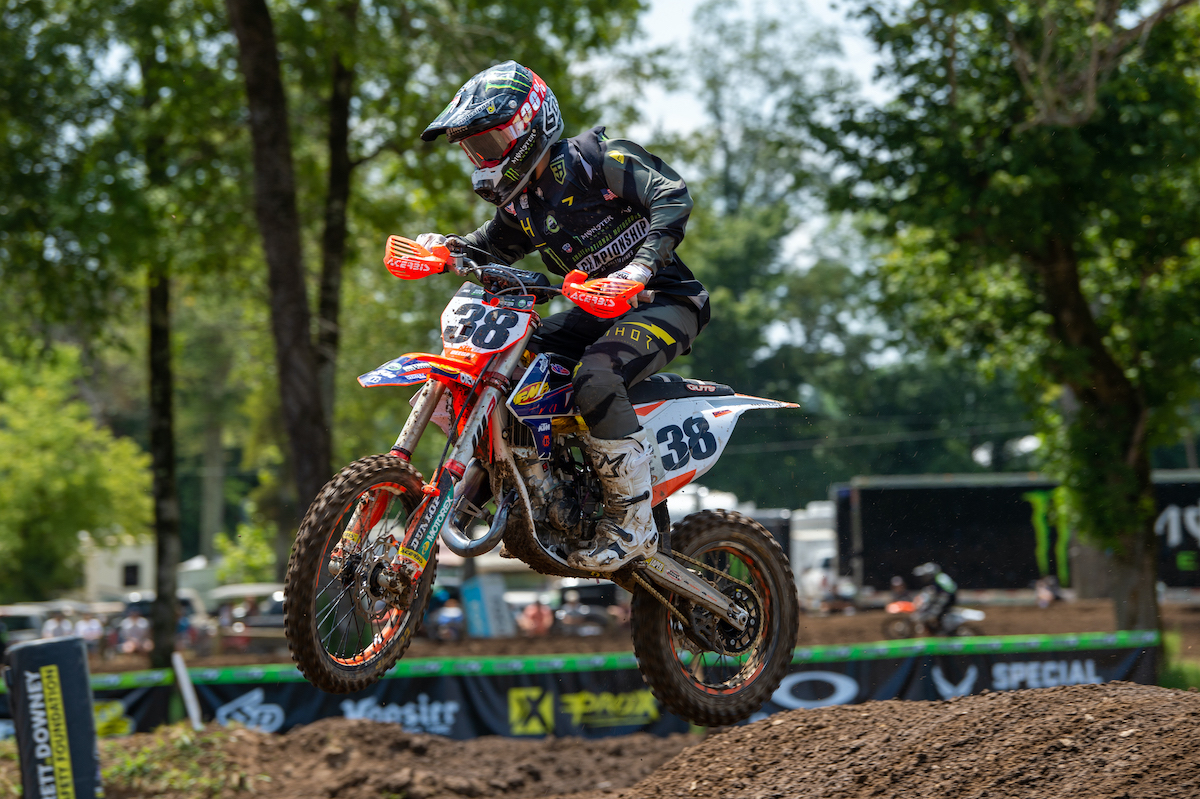 210806 Haiden Deegan was dominant yet again en route to the second moto win in Supermini 1