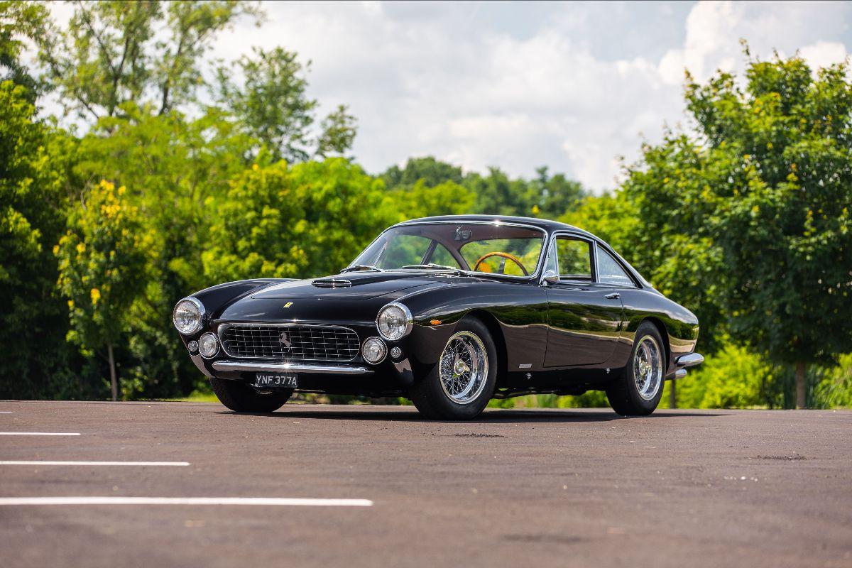 210807 1963 Ferrari 250 GT Lusso Berlinetta Scaglietti S:N 4513GT, 3.0L V-12, 4-Speed (Lot S110)