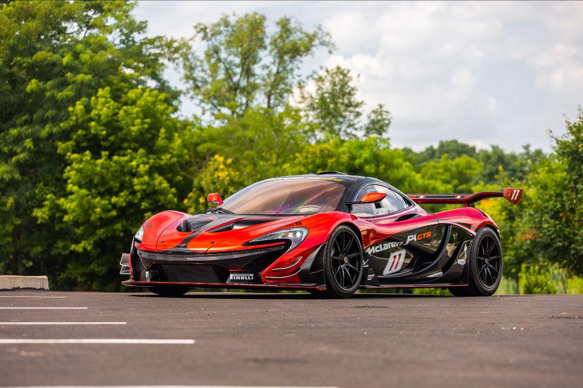 210807 2015 McLaren P1 GTR 120 Miles, No. 26 of 35 Produced (Lot S118)