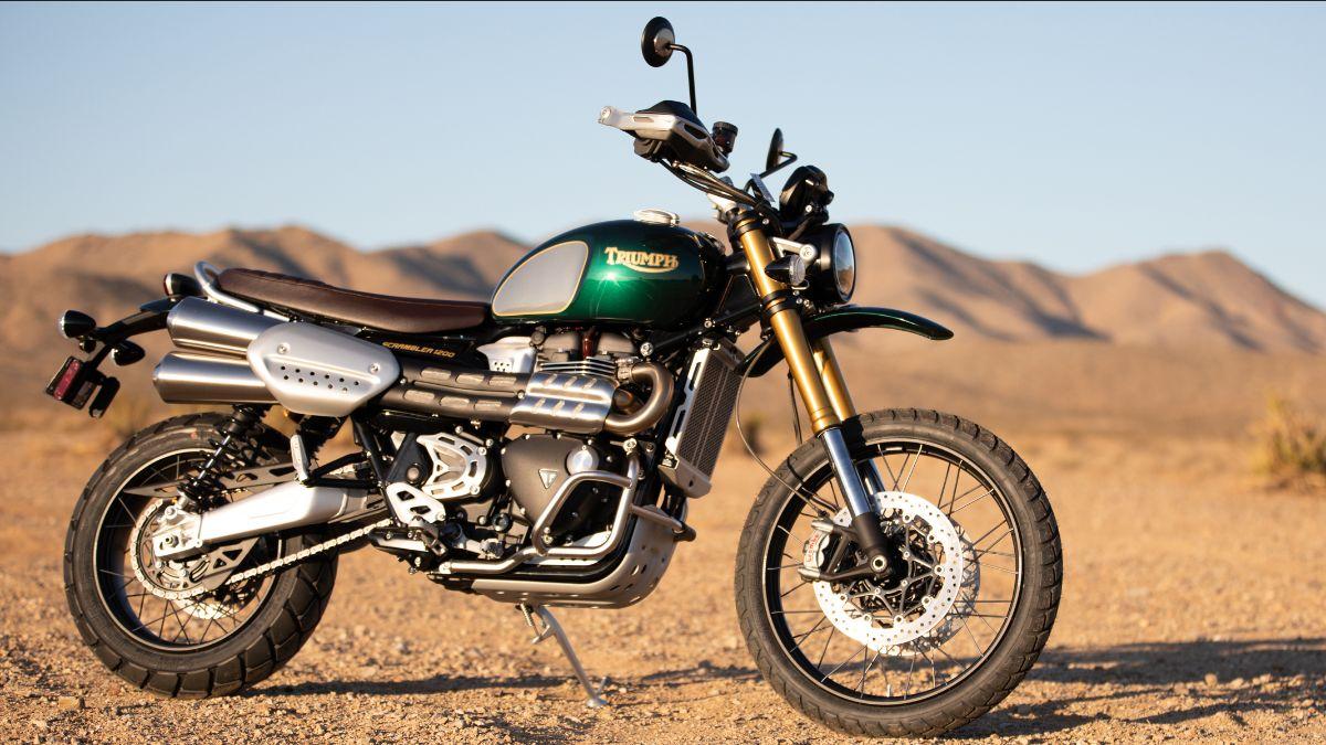 210807 2022 Triumph Scrambler 1200 Steve McQueen Edition Serial No. 0278, Proceeds to Benefit Boys Republic (Lot S115)