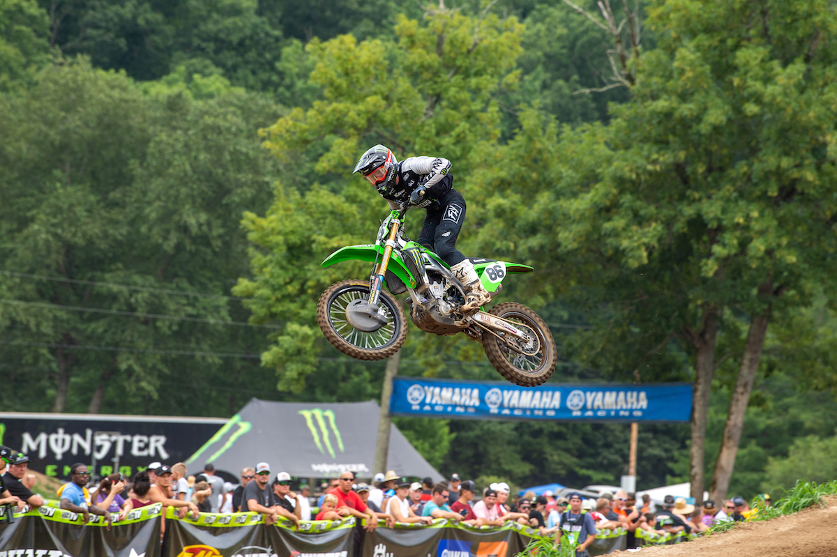 210807 Chance Hymas grabbed the win in the final moto of 250 Pro Sport