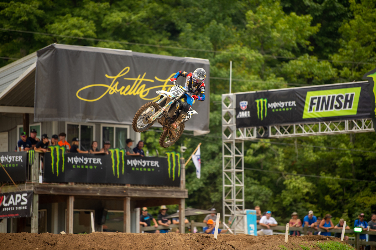 210807 Evan Ferry capped off a stellar run in 125cc B:C with back-to-back moto wins