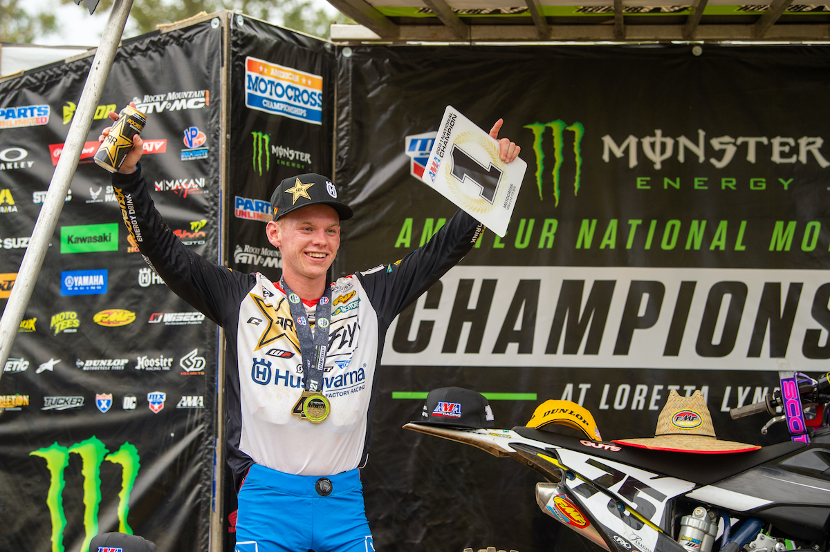 210807 Ferry captured his first AMA National Championship with 2-1-1 moto scores