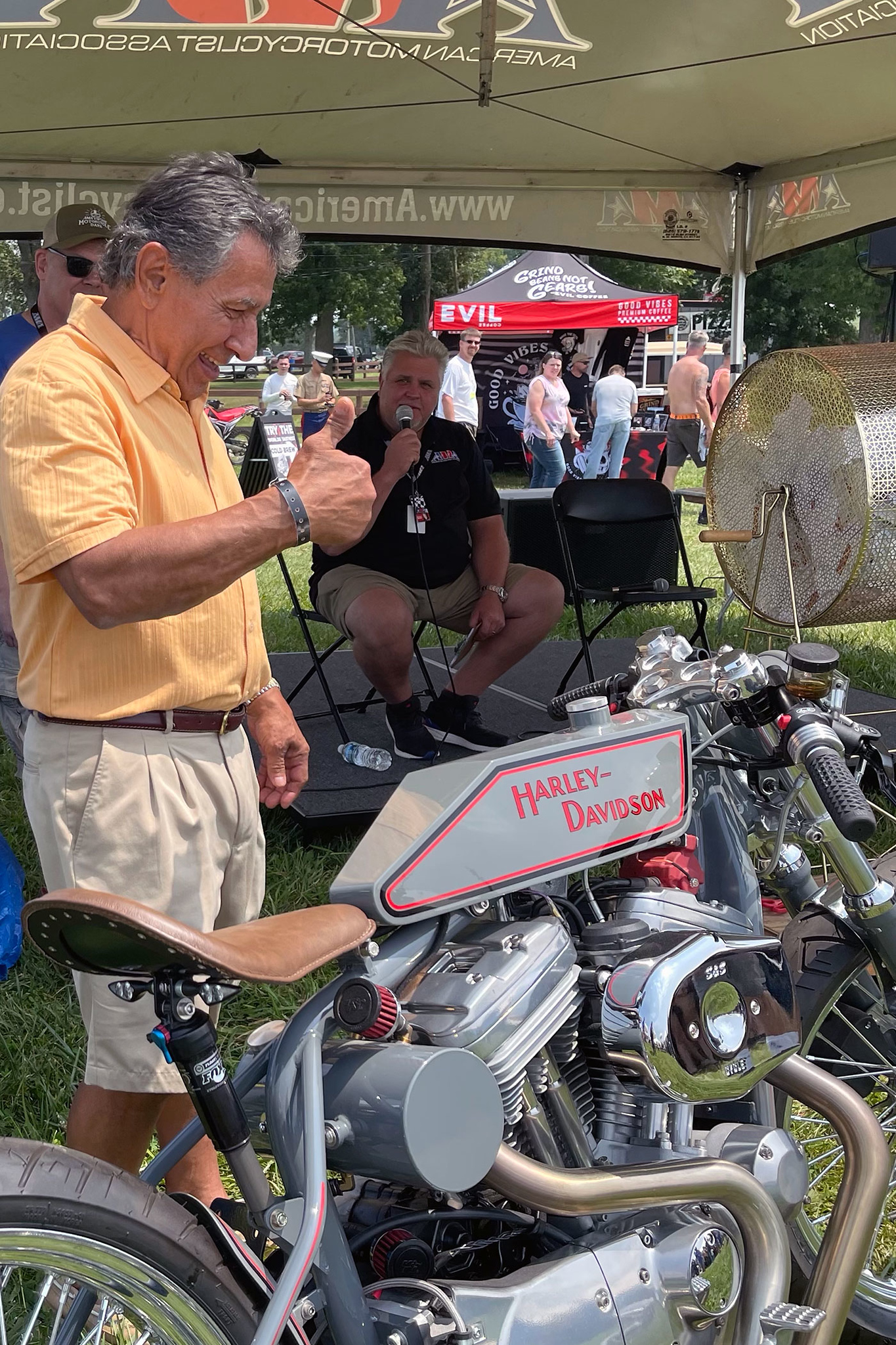 210811 AMA Motorcycle Hall of Fame Announces Winner of 2021 Raffle Bike