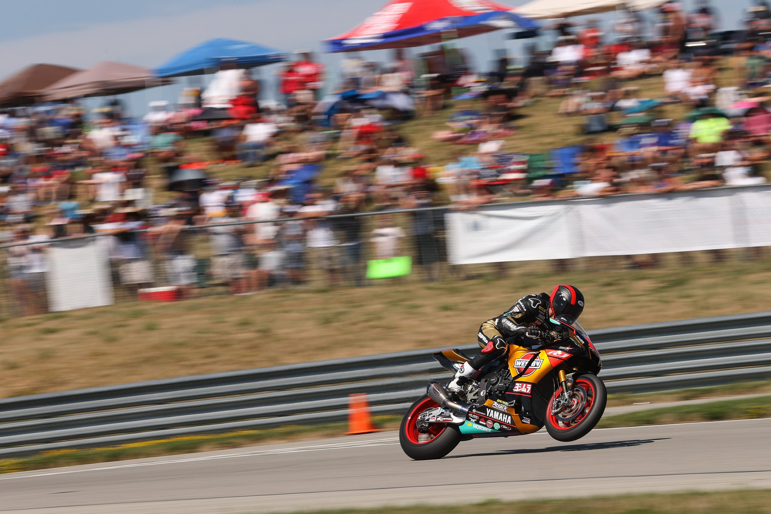 210811 The hills are alive. Pittsburgh International Race Complex is a crowd favorite and Mathew Scholtz