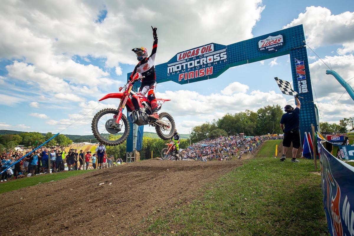 210815 Ken Roczen enjoyed a dominant sweep of the motos