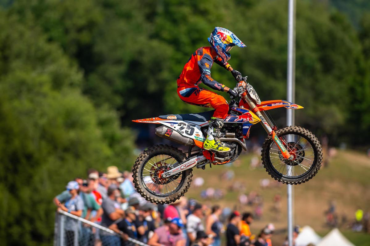 210815 Marvin Musquin earned his first overall podium result of the season in third