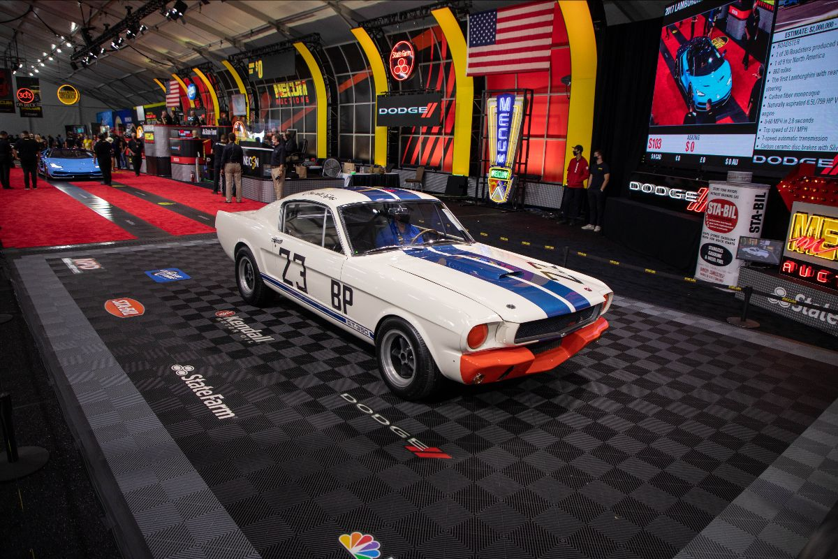 1965 Shelby GT350R Fastback SFM5R538, The Winningest Shelby Ever (Lot S102) sold at $1,265,000