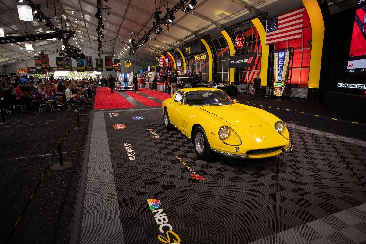 1966 Ferrari 275 GTB:6C Long Nose S:N 08431, 21,000 Miles (Lot S78) sold at $2,640,000