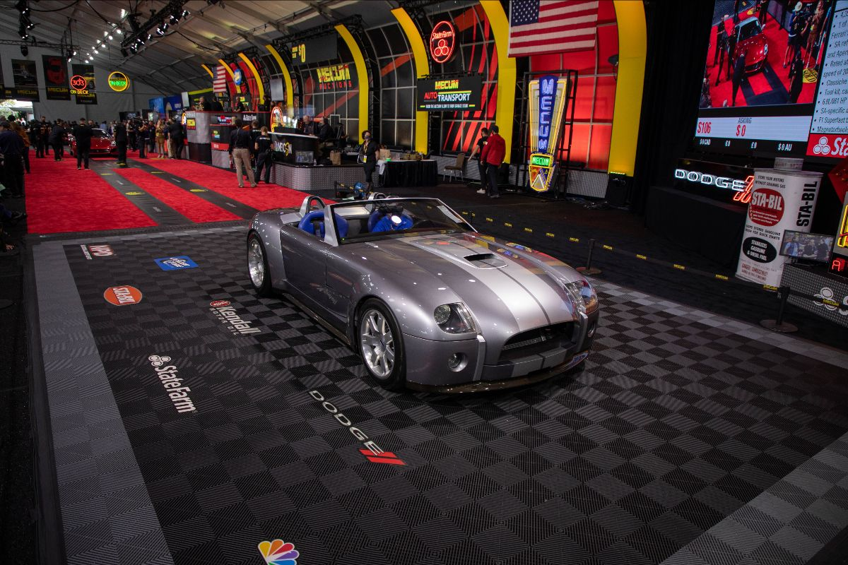 2004 Ford Shelby Cobra Concept Ford Special Project Codename- Daisy (Lot S105) sold at $2,640,000