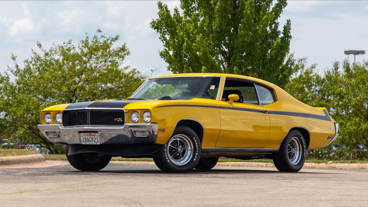 1970 Buick GSX 455 CI, Unrestored (Lot S128) Offered at Mecum Chicago 2021