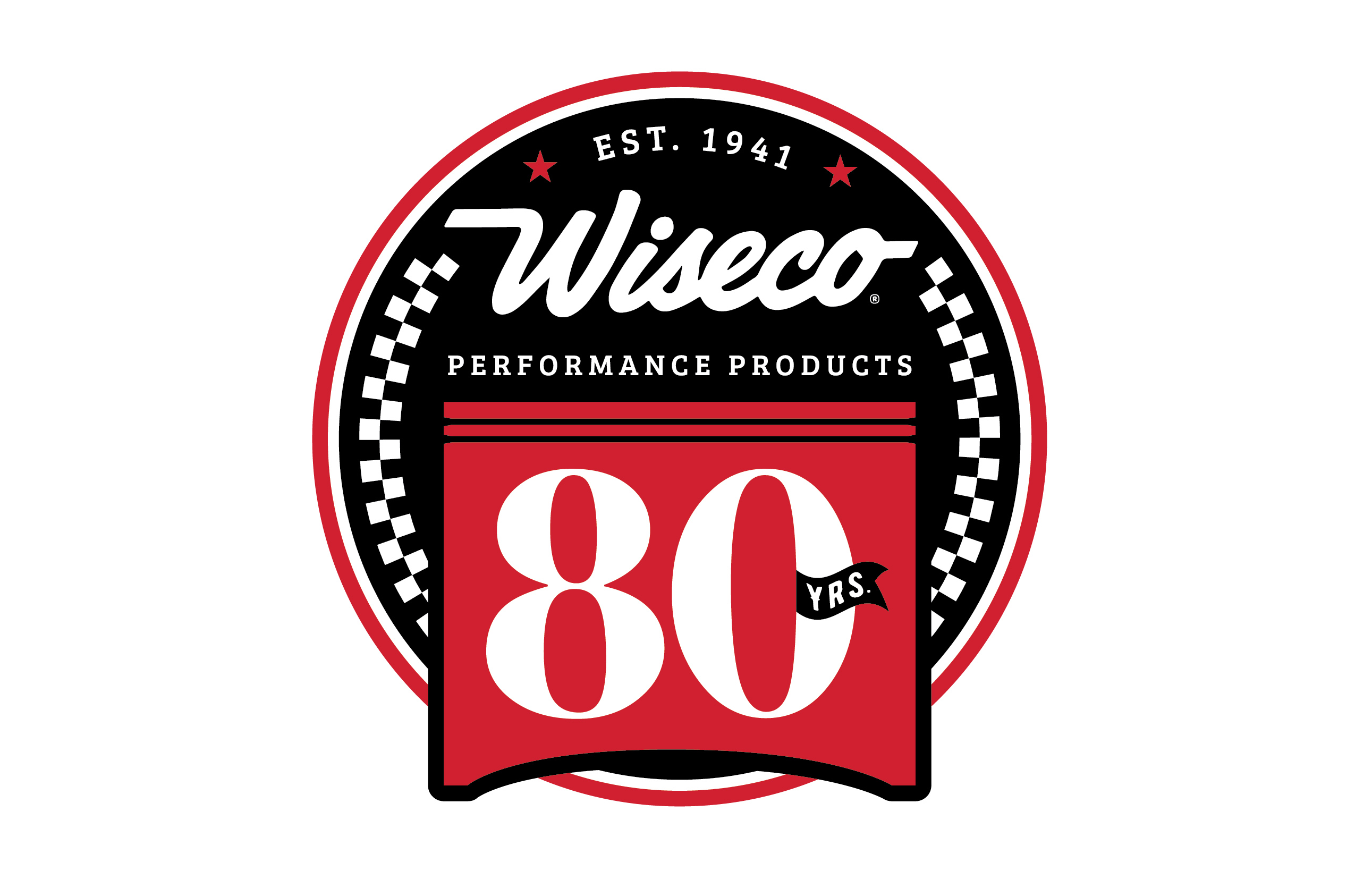 Wiseco 80th Anniversary Logo