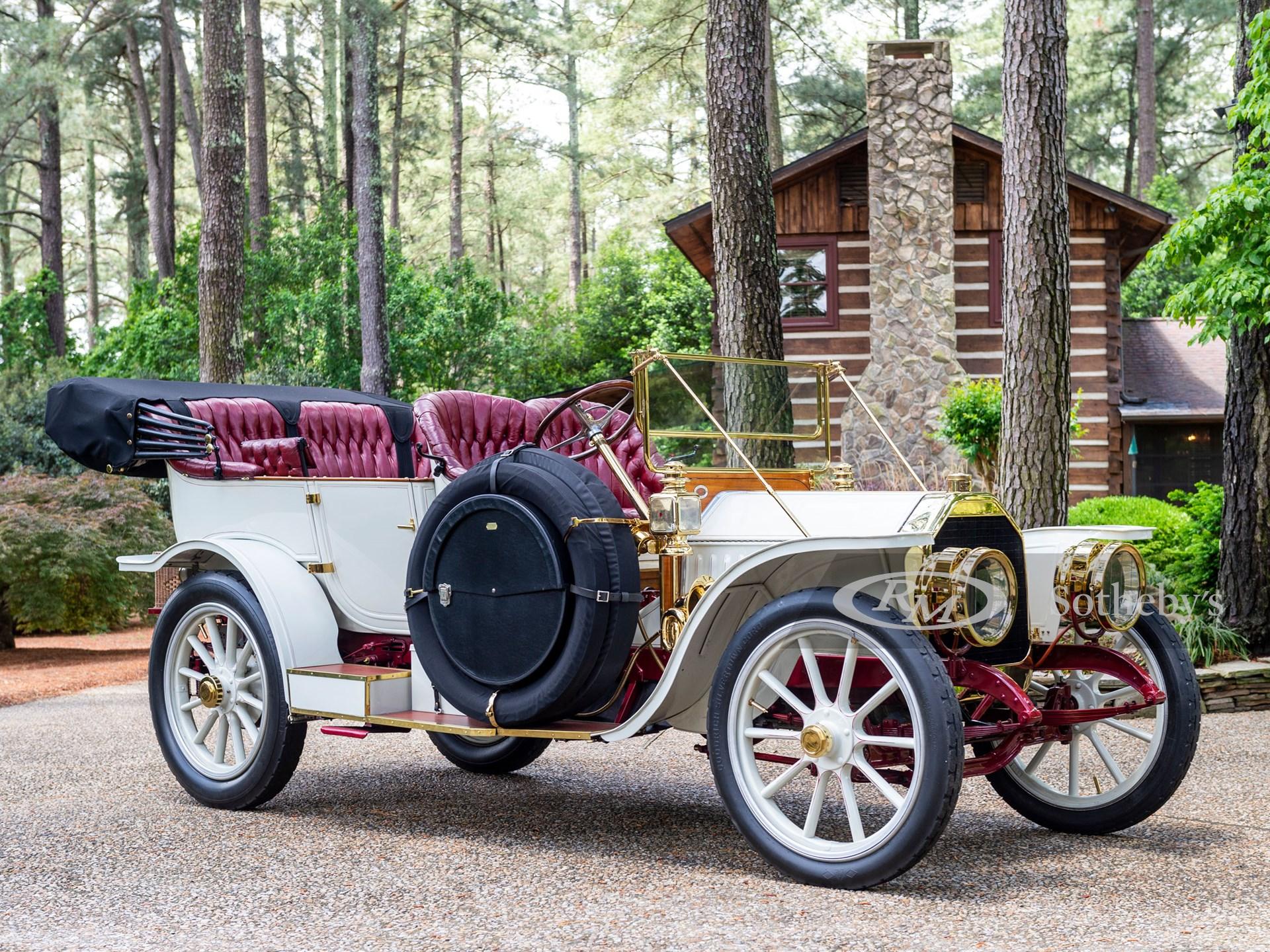 1909 Peerless Model 19 Touring (Ryan Merrill ©2021 Courtesy of RM Sotheby's)