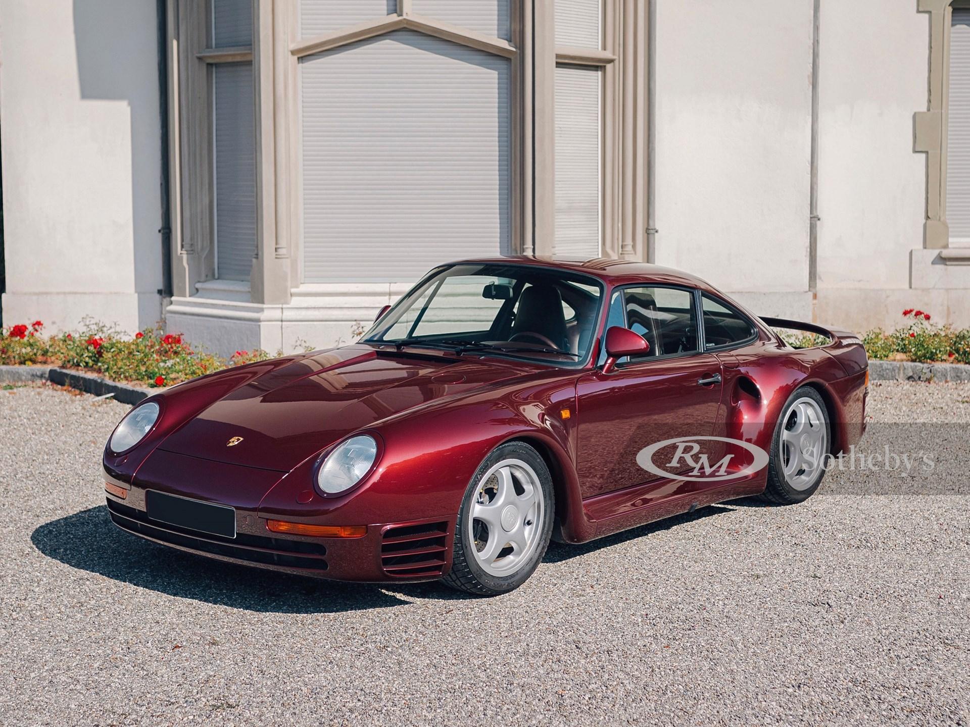 1989 Porsche 959 Komfort (©2021 Courtesy of RM Sotheby's)