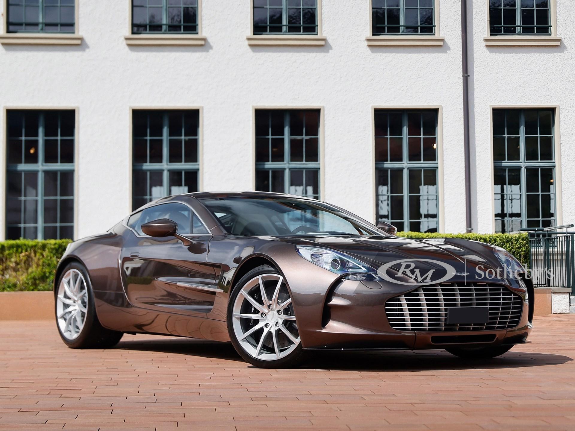 2012 Aston Martin One-77 (Dario Fontana ©2021 Courtesy of RM Sotheby's)