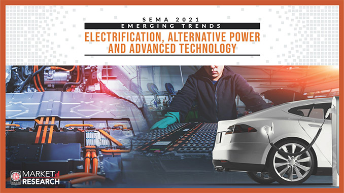 210908 According to new SEMA market research, sales of alternative power vehicles are expected to reach 45% by 2035 (678)