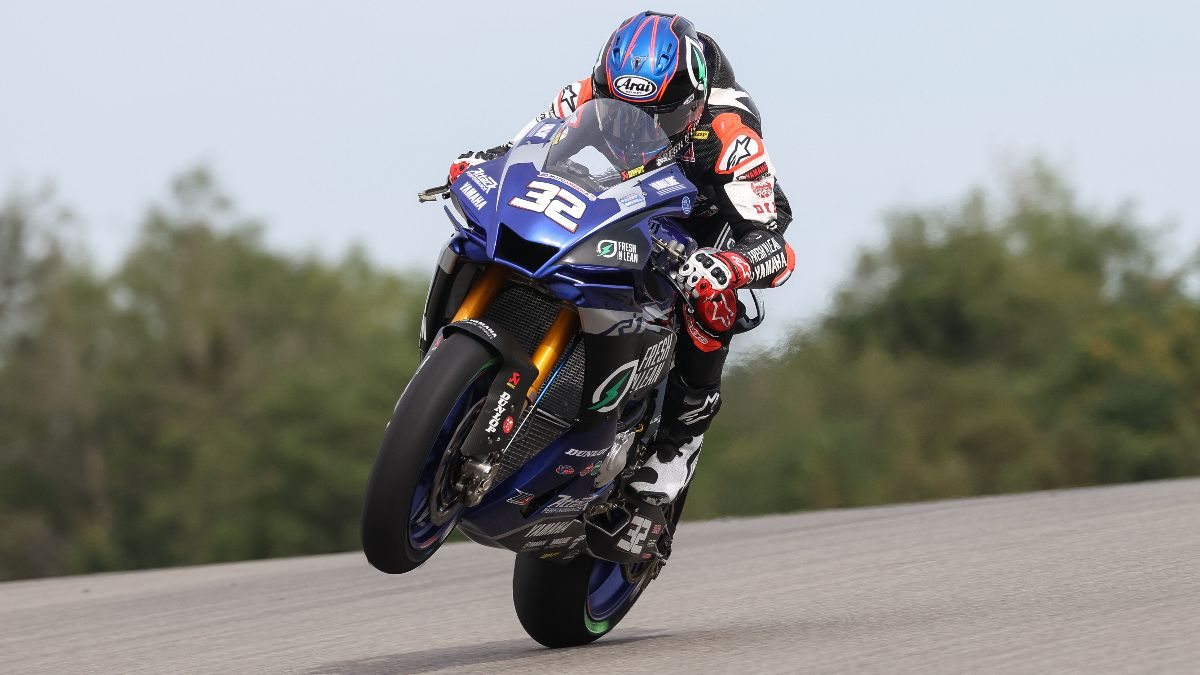 Jake Gagne has won 13 straight HONOS Superbike races heading into this weekend's three races