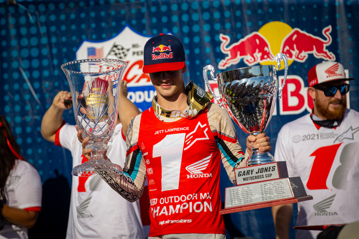 210912 Lawrence is the first Australian to win the 250 Class title