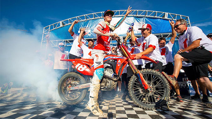 210912 Teenager Jett Lawrence Becomes First Australian to Win Lucas Oil Pro Motocross 250 Class Championship (678)
