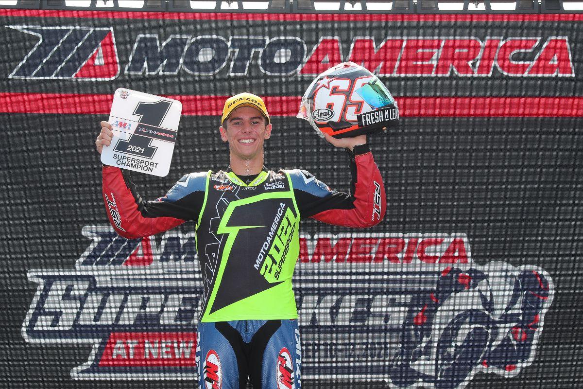 210913 Sean Dylan Kelly - 2021 MotoAmerica Supersport Championship