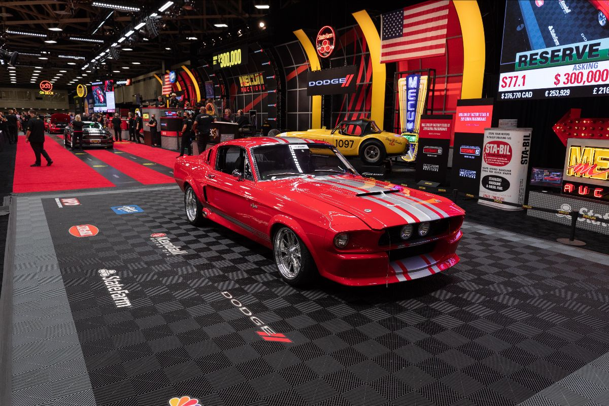 1968 Ford Mustang GT500CR 900C Fastback Supercharged 5.0L:770 HP, 5-Speed (Lot S77.1) sold at $335,500