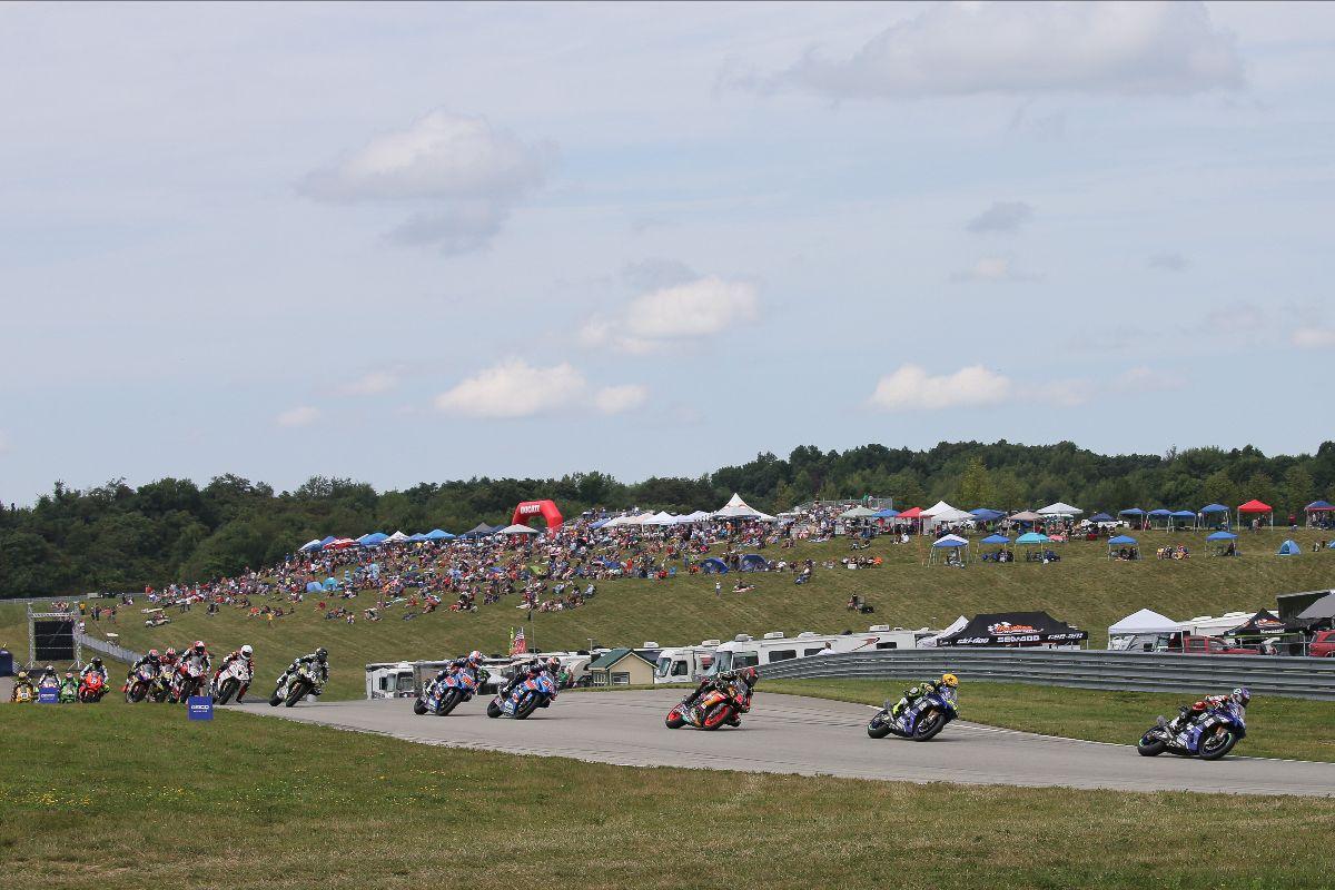 210917 MotoAmerica has released its 10-round, 20-race 2022 MotoAmerica Superbike Championship schedule