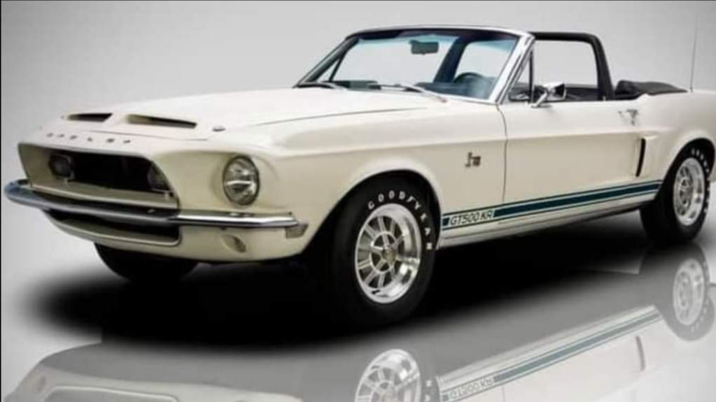 210923 Mecum Auction Chattanooga - 1968 Shelby GT500KR Convertible Shelby No. 03452, 428 CI, Automatic (Lot S110)
