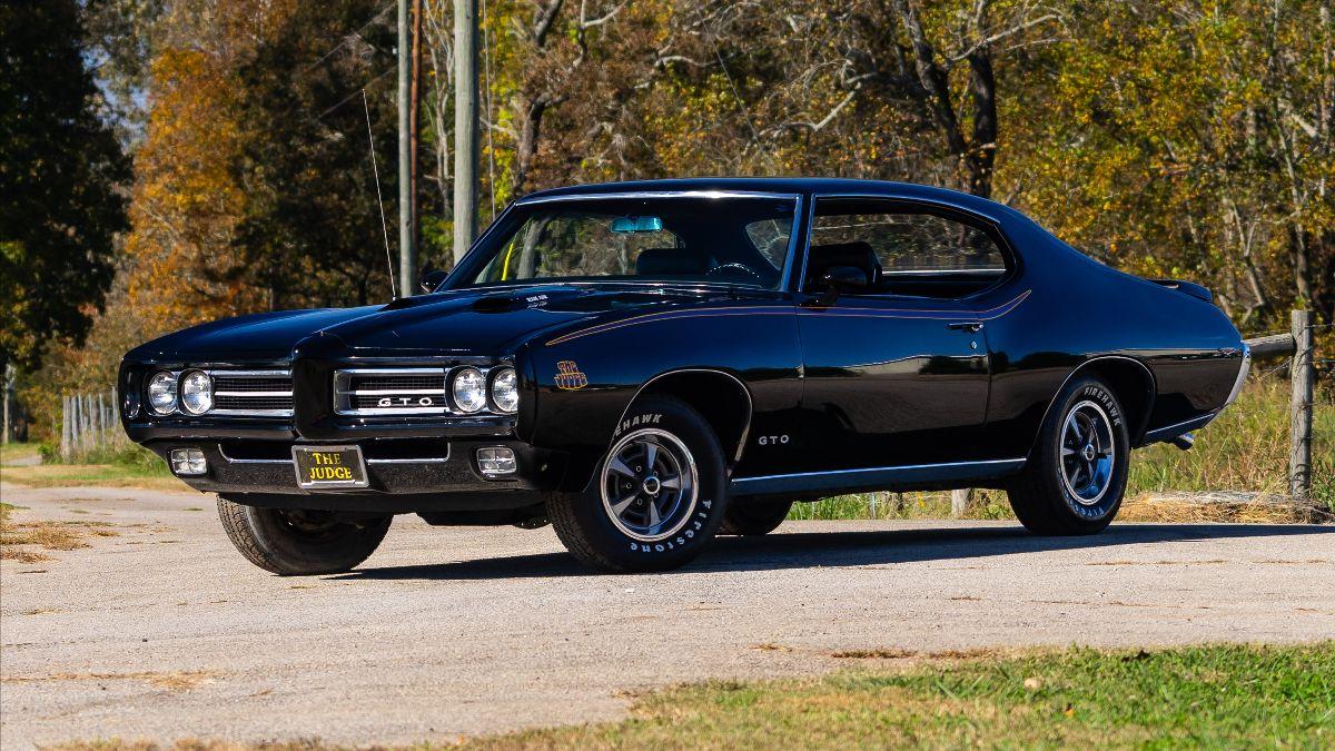 210923 Mecum Auction Chattanooga - 1969 Pontiac GTO Judge 400 CI, 4-Speed (Lot S90.1)