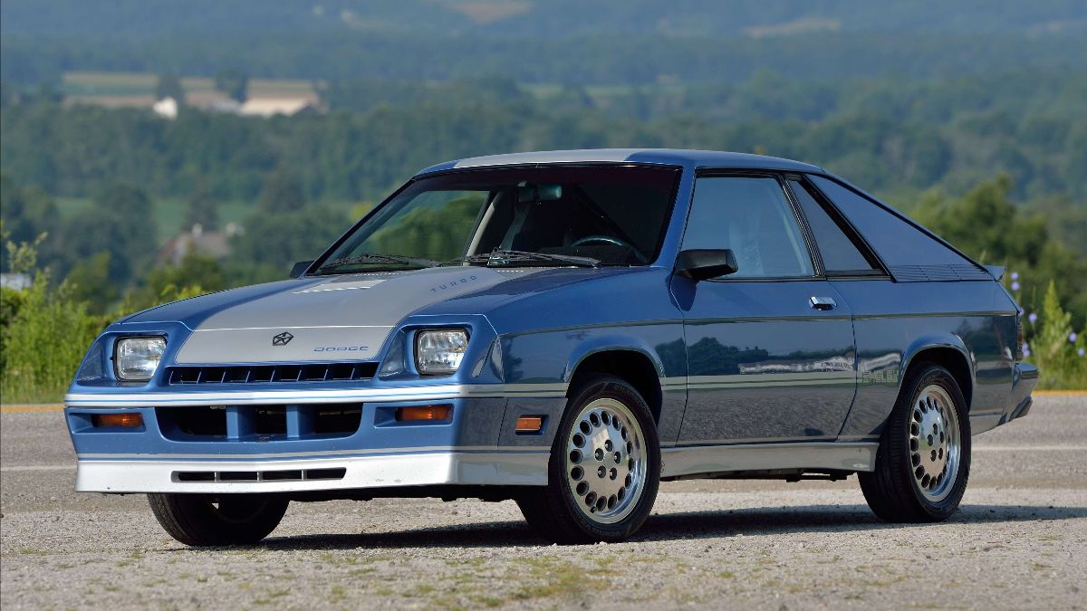 210923 Mecum Auction Chattanooga - 1985 Dodge Shelby Charger Turbocharged 2.2L, 1 of 843 Produced (Lot F100)